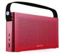 NA-0301R - Bocina Naceb 0301 - Bluetooth - 3.5mm - Micro-USB - USB 2.0 - Recargable - Rojo