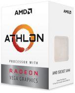 YD3000C6FBBOX Procesador AMD Athlon 3000G 3.5GHz 2 Núcleos Socket AM4 4MB Caché 35W