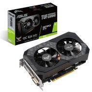 TUF-GTX1660S-O6G-GAMING Tarjeta de Video ASUS TUF Gaming GeForce SUPER OC 6GB 192-bit PCI-E 3.0 GDDR6 HDMI DVI-D DisplayPort