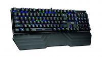 NA-0918 Teclado Gamer Naceb Zaurus Mecánico USB Iluminación RGB Azul Negro