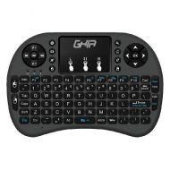 KB-776 Mini Teclado GHIA GCR-002 Inalámbrico USB Touch Pad Negro
