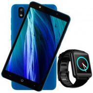"Smarphone Bleck Be Et  BL-919739 5""  BN-00003  1.3 GHZ 1GB 8GB Cámaras 2MP/5MP Doble SIM Android Go Azul Smartwatchbleck Be Watch  BL-919869  1.4"" 32 MB Bluetooth"