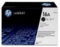 Cartucho de Tóner Q7516A HP 16A - Negro - Laserjet - Original (Q7516A)