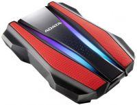 """AHD770G-1TU32G1-CRD Disco Duro Externo ADATA HD770G 2.5"""" 1TB USB 3.2 RGB Rojo"""