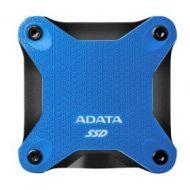 Unidad de Estado Sólido Externo ASD600Q-240GU31-CBL ADATA SD600Q 240GB USB 3.1 Azul