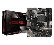 A320M-HDV R4.0 Tarjeta Madre ASRock A320M-HDV R4.0 Socket AM4 2x DDR4 2133 / 2667 / 3200 MHz HDMI VGA DVI-D USB 2.0 USB 3.0 Micro-ATX