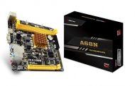 Tarjeta Madre Biostar A68N AMD A68N-2100E E1-2150 2x DDR3 800 /1333 MHz HDMI VGA USB 2.0 USB 3.1 Mini ITX