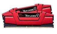 F4-2666C19D-16GVR Memoria RAM G.SKILL Ripjaws V DDR4 16GB (2x8GB) 2666 MHz Rojo