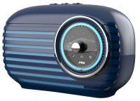 HX-P525-BL - Bocina jam Vintage - Inalámbrica - Bluetooth - 3.5mm - Azul