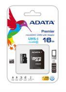 AUSDH16GUICL10-RA1 Micro SD ADATA Pemier Pro UHS-I U1