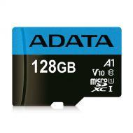 AUSDX128GUICL10A1-RA1 Memoria MicroSDXC ADATA Premier 128GB Clase 10 UHS-I V10 A1 C/Adaptador