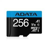 AUSDX256GUICL10A1-RA1 Tarjeta de Memoria ADATA 256GB MicroSDHC/SDXC UHS-I Clase 10 Con Adaptador