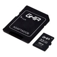 RAM-3124 Memoria Micro SDHC GHIA GAC-172 32GB Clase 10 UHS-I C/Adaptador
