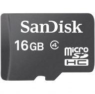 SDSDQMC4-16 Memoria MicroSDHC SanDisk 16GB Clase 4 C/Adaptador