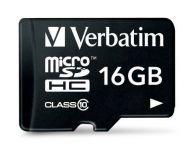 VB44082 Memoria Micro SDHC Verbatim 16GB Clase 10
