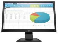 """Monitor LED HP P204 Pantalla 19.5"""" 5RD65A8 1600 x 900 HDMI VGA DisplayPort"""