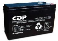 B-12/7 Batería de Reemplazo CDP 12V