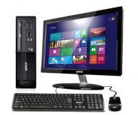 "LANIX45521 Lanix Corp 6020 SFF Intel Core i3-8100 4GB 500GB DVD-RW Windows 10 Pro + Monitor 19.5"""