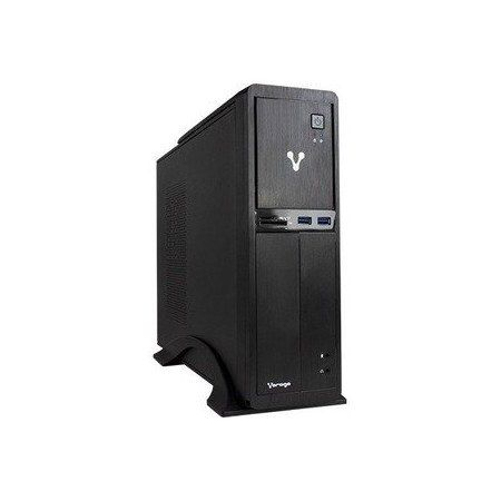 Computadora Vorago SlimBay 4 SB4 RZN5 2400-END-1 AMD Ryzen 5 2400G 4GB 32GB Radeon Vega 11 ENDLESS Os