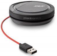 210900-01 - Altavoz Plantronics Calisto 3200 - Portátil - USB - Micrófono - Manos libres - Negro/Rojo