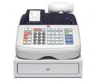 ECR 6800 Caja Registradora Olivetti B9850000 400 PLUs 8 Monedas 3 Billetes
