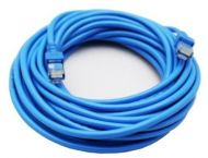 Cable de Red GHIA GCB-017 Cat5e RJ-45 7,5M Azul