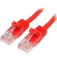 Cable de Red StarTech.com 45PAT50CMRD 50cm Cat5e Ethernet Rojo