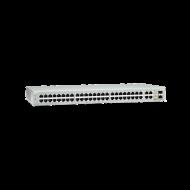 AT-FS750/52-10 Switch Allied Telesis - 48 Puertos 10/100 Mbps + 2x 1 Gigabit + 2x SFP - Administráble