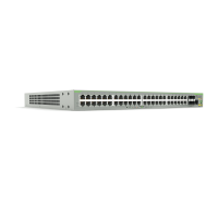 AT-FS980M/52PS-10 Switch Allied Telesis -  48 Puertos PoE 10/100Mbps + 4 Puertos SFP - PoE Total de 375 Watts - Capa 3 Administráble