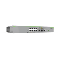 AT-FS980M/9-10 Switch Allied Telesis - 8 Puertos 10/100 Mbps + 1x 1GBE SFP - Capa 3 Administráble