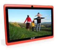 "Tablet GHIA Any Quattro BT con pantalla de 7"" Quad Core NOTGHIA-182 1GB 8GB Cámaras 0.3MP/0.3MP Android 5.1 Rojo"