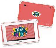 """Tablet GHIA Kids 7 GTAB718 Pantalla 7"""" Quad Core 1,3GHz NOTGHIA-215 1GB 8GB 0.3/2MP Android 8.1 Rojo"""