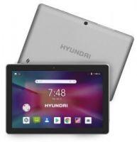 "Tablet Hyundai Koral 10X2 10"" Quad Core 1GB 16GB HT1004X16A Cámaras 2MP / 5MP Android 8.1 Plata"