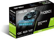 PH-GTX1660S-O6G - Tarjeta de Video Asus Phoenix GTX 1660 Super OC - 6GB GDDR6 - PCI-e 3.0 - HDMI - DVI-D - DisplayPort