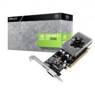 Tarjeta de video PNY Nvidia GeForce GT 1030 VCGGT10302PB 2GB 64 bit PCIe 3.0 GDDR5 HDMI DVI