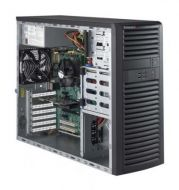 Workstation SuperMicro SuperWorkstation 5039A-IL, Intel Xeon E3-1220, Mem. 8GB, HDD 1TB, DVD-RW, N.O.S